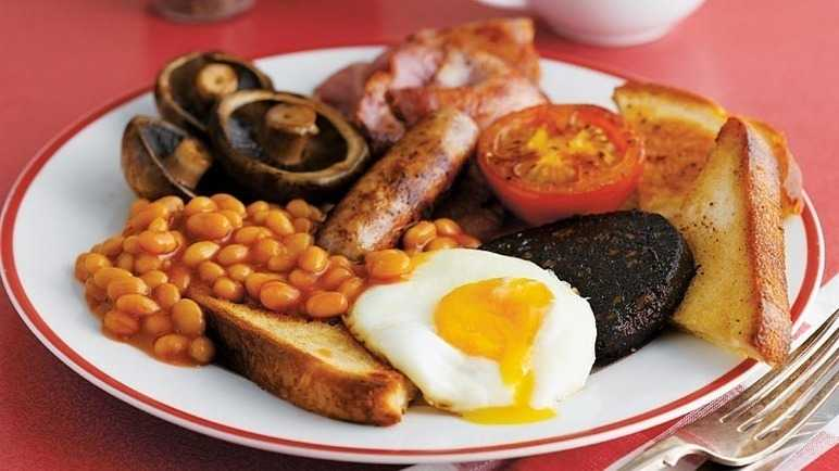 Full english breakfas image