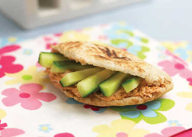 Cucumber pitta pocket image
