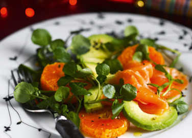 Colourful clementine sala image