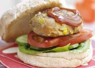 Chicken burger image
