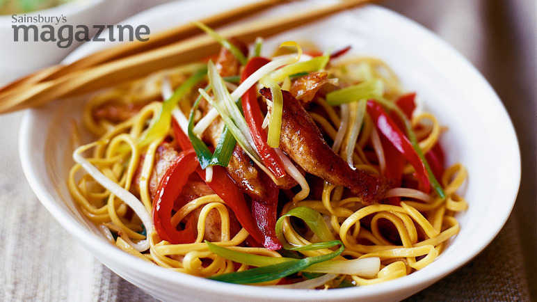 Recipe chicken chow mein sainsburys chicken chow mei image forumfinder Image collections