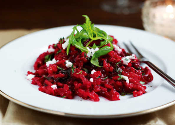 risotto mushroom risotto beetroot risotto with lancashire cheese ...