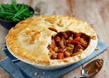 Beef, vegetable & ale pi image