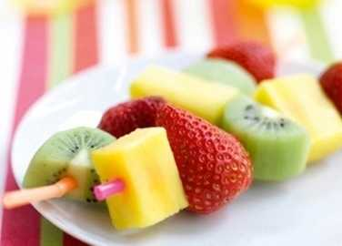 Fruit kebab image