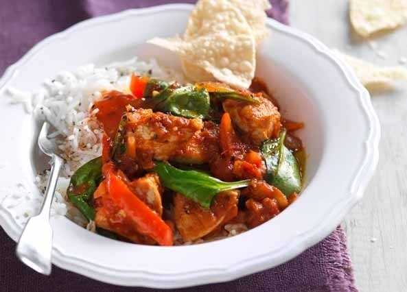 Easy turkey curry image