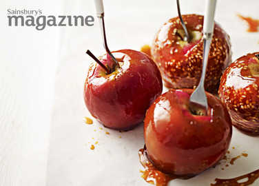 Toffee apple image