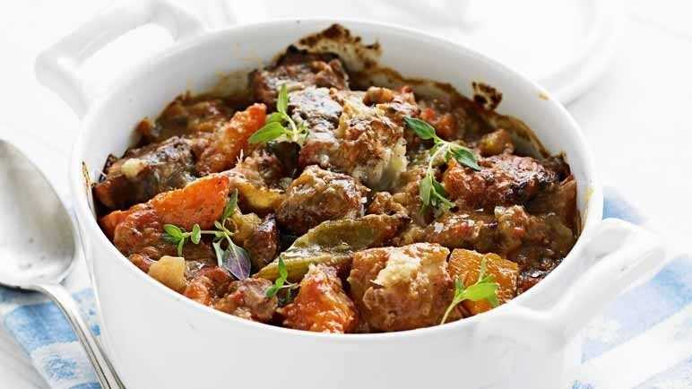 Tender pork stew image