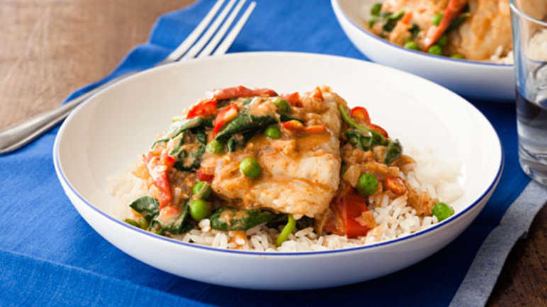 Spiced fish curr image