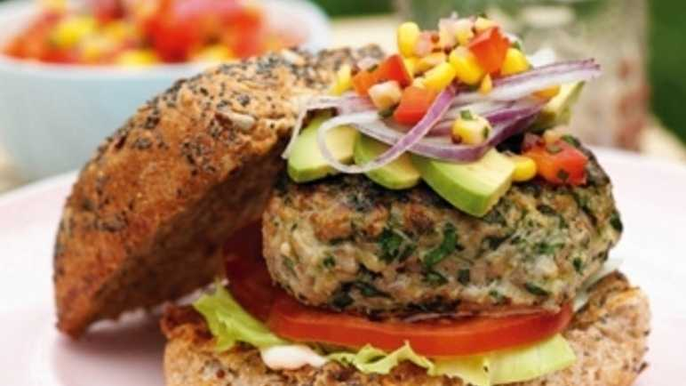 Recipe Scrumptious Herby Turkey Burger Recipes