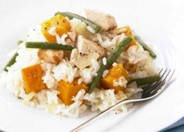 Risotto-style chicken and butternut squas image