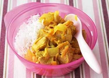 Nice and mild chicken curry image