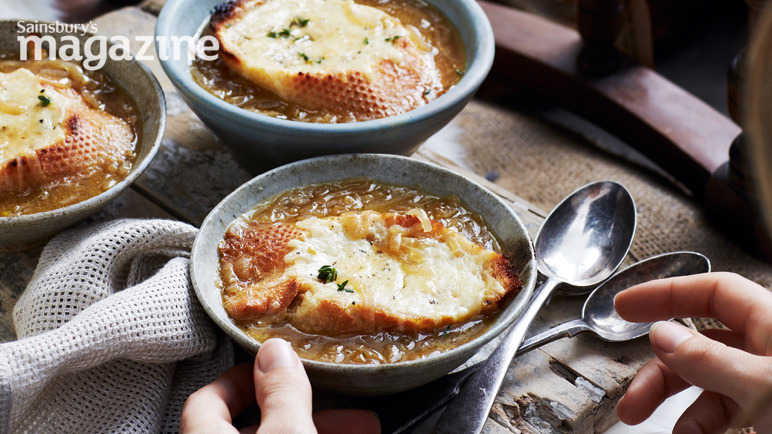 French onion soup image