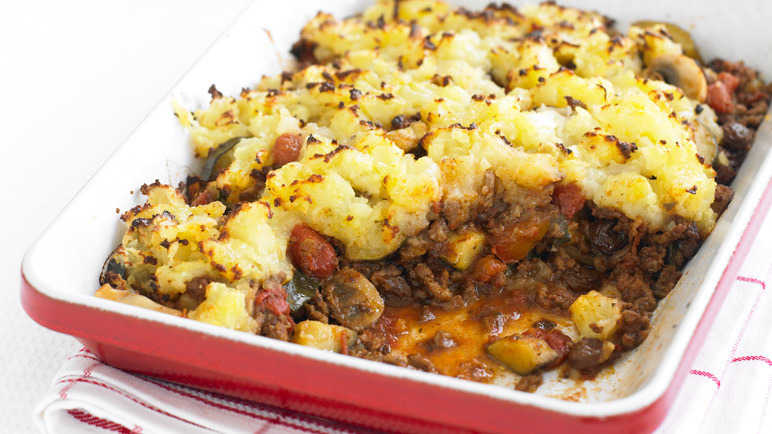 Fruity cottage pie image
