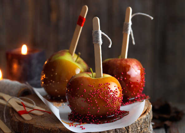 Image: Caramel toffee apples