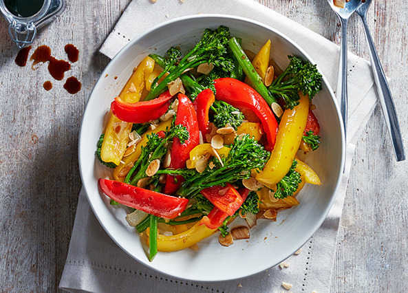 Image: Broccoli and pepper medley