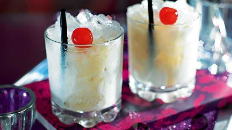 Image: White russian cocktail