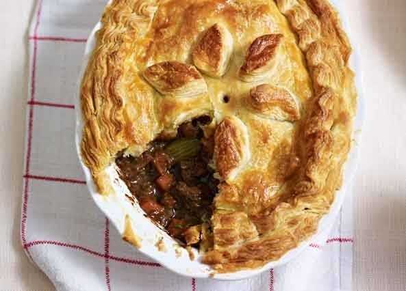 Image: Mary Berry's steak and Guinness pie