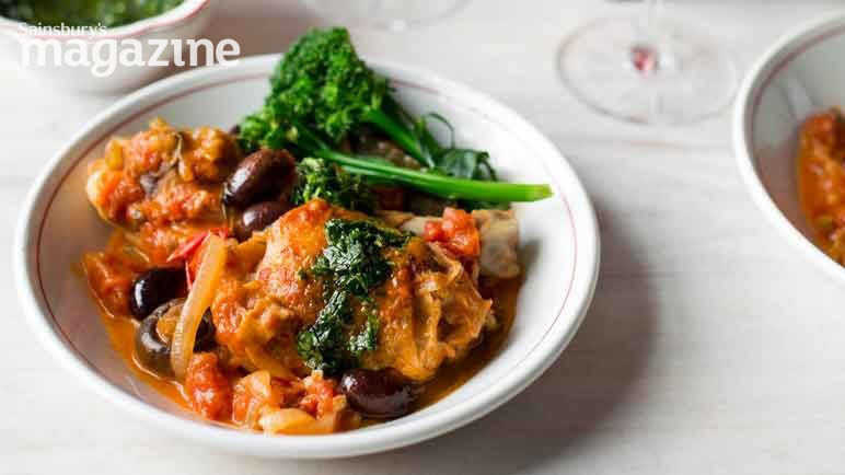 Image: Chicken cacciatore with gremolata