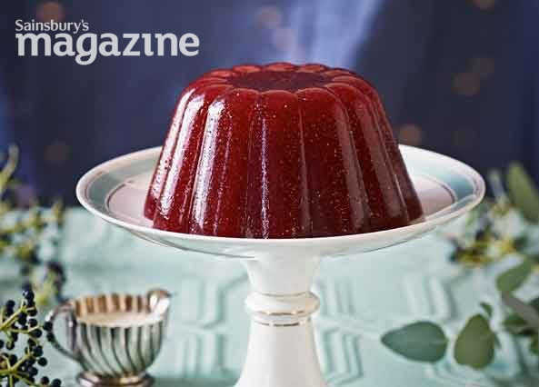 Image: Sparkly plum and sloe gin jelly