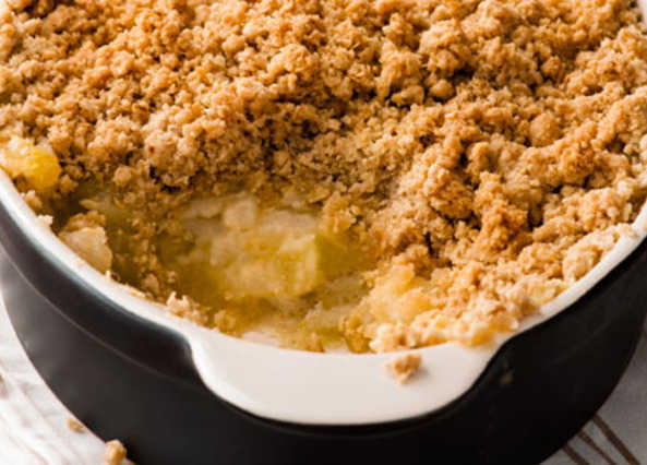 Apple crumbl image