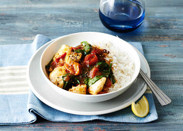 Image: Quick and Easy Fish Curry