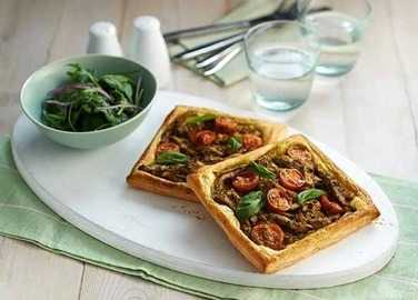 Image: Chicken and pesto tart