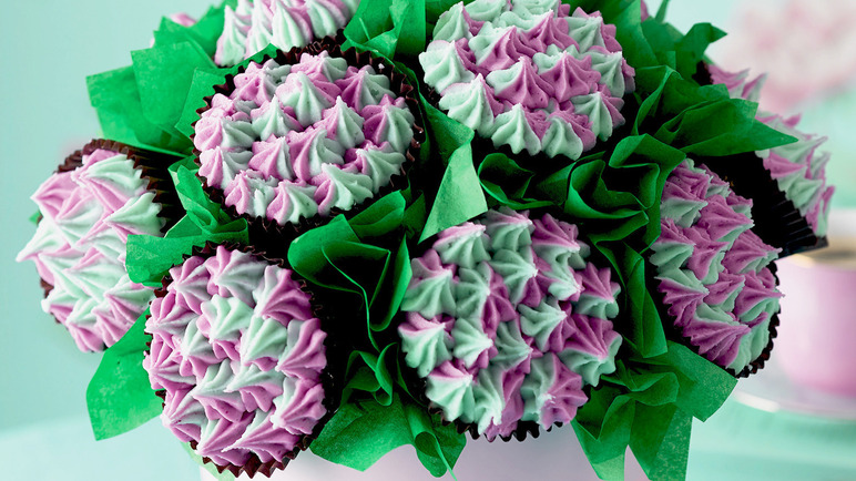Image: Cupcake bouquet