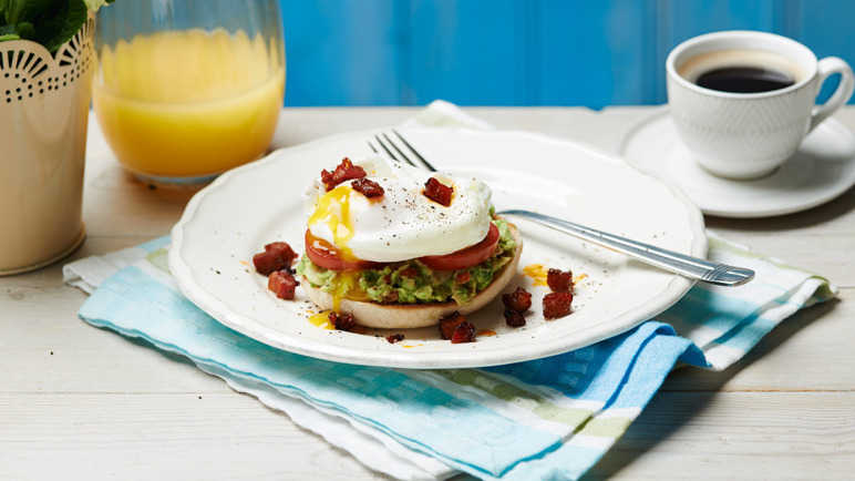 Image: Mexican-style eggs benedict