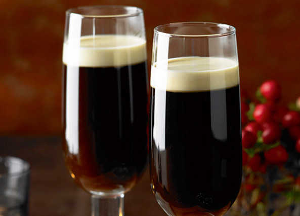 Image: Traditional Irish coffee