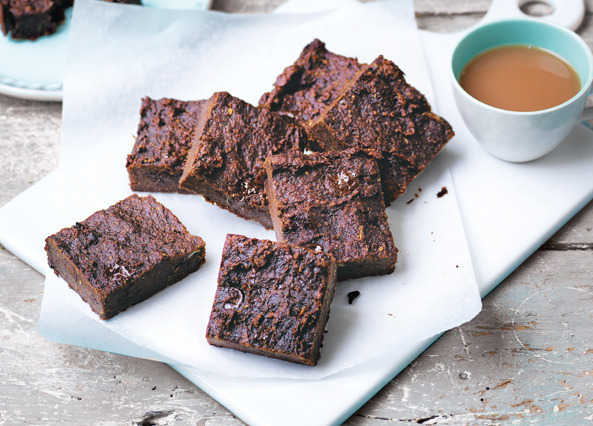 Image: Squidgy cauliflower chocolate brownies
