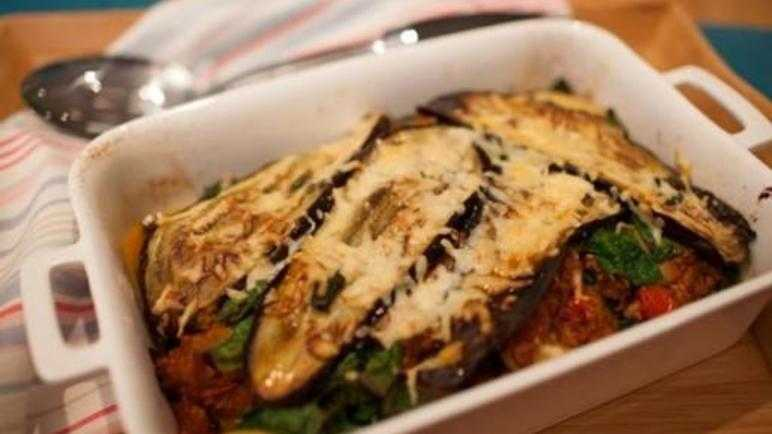 Moussaka with a twist