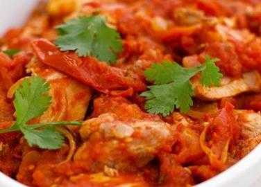 Spicy and aromatic chicken