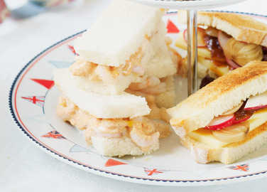 Prawn cocktail finger sandwich image