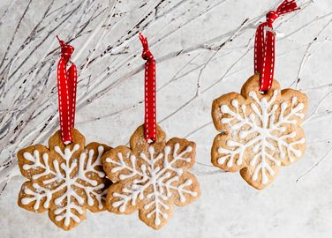 Snowflake biscuits recipe