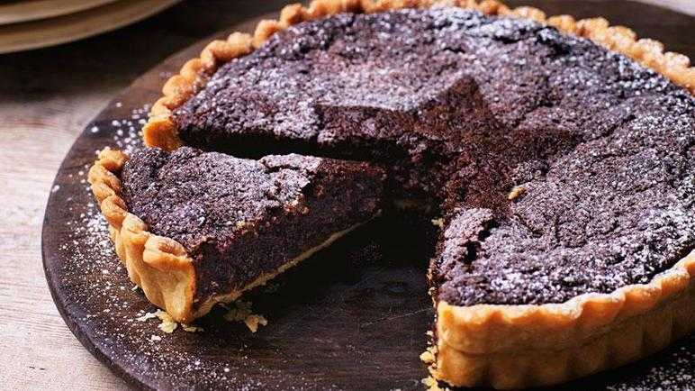 Recipe Chocolate Mince Pie Brownie Tart Recipes