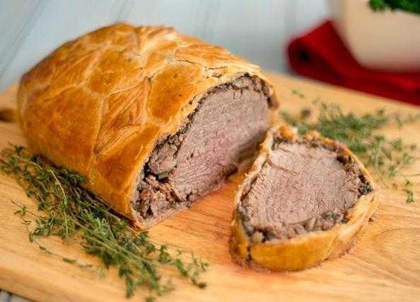 ... / Courses / Main courses / British beef wellington for Christmas