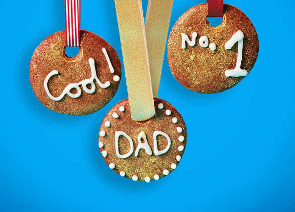 Father's Day gold biscuits recipe
