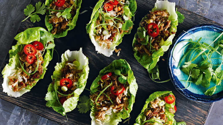 Image: Spicy pork larb
