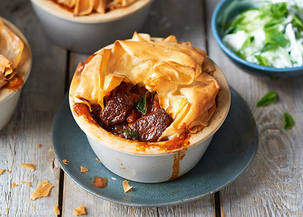 Image: Persian lamb pie