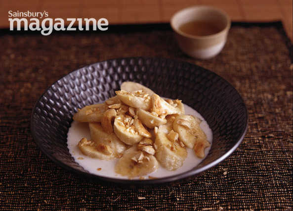 Recipe jamaican style coconut fish parcels sainsbury 39 s for Pomegranate molasses sainsburys
