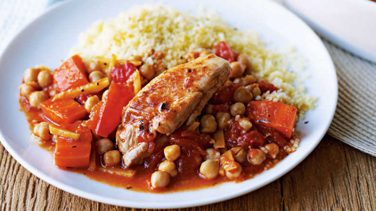 Image: Moroccan-style chicken
