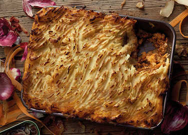 Image: Shepherd's pie with an anchovy twist