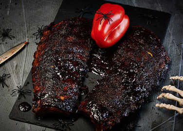 Image: Spooky spicy ribs