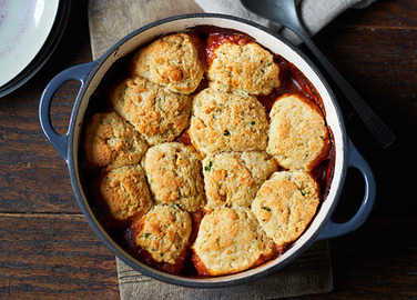 Image: Chicken stew with parsley dumplings