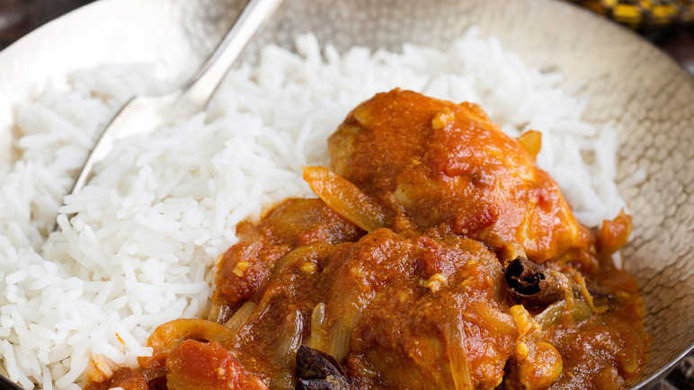 Image: Dhruv's midweek chicken curry