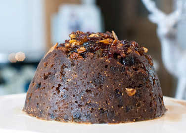 Image: Fairtrade Christmas pudding