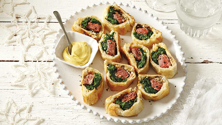 Image: Mini beef wellingtons