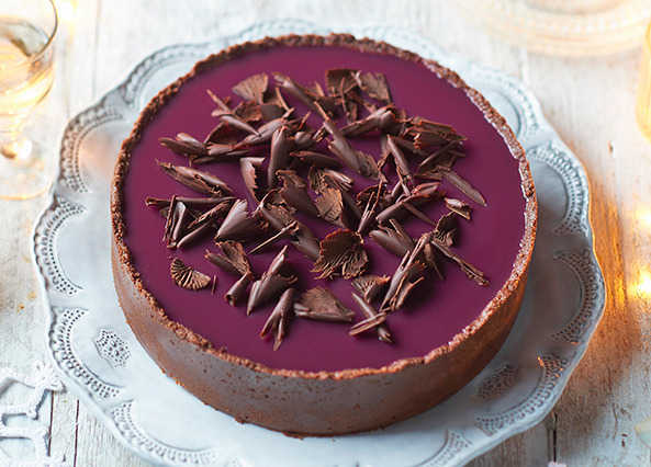 Image: Mulled wine cheesecake