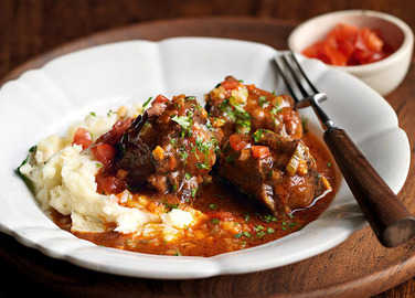 Image: Rich oxtail stew