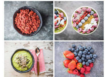 berries-and-greens-smoothie-bowl-homemade